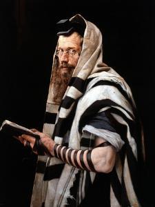 Rabbi, 1892 by Jan Styka