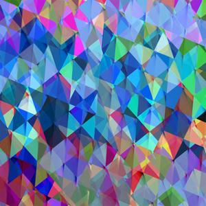 Geometric Squared IV by Jan Tatum