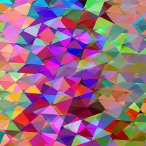 Geometric Squared V by Jan Tatum