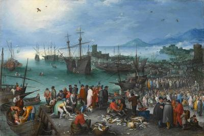 Harbor Scene with St. Paul's Departure from Caesarea, 1596