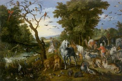 The Entry of the Animals into Noah's Ark, 1613 by Jan the Elder Brueghel