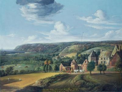View of Potrel Manor, Near Dragey in Normandy