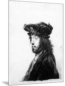 An Oriental Head, Etched by Rembrandt, C.1635 (Etching) by Jan The Elder Lievens