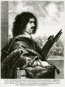 Jacques Gaultier (C.1600-52) C.1630 by Jan The Elder Lievens