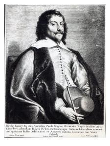 Nicholas Lanier, Engraved by Lucas Vostermans by Jan The Elder Lievens