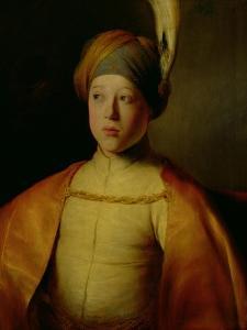 Portrait of a Boy in Persian Dress by Jan The Elder Lievens