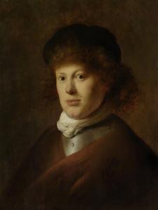 Portrait of Rembrandt Harmensz Van Rijn, 1628 by Jan The Elder Lievens