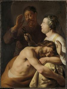 Samson and Delilah, 1630-35 by Jan The Elder Lievens