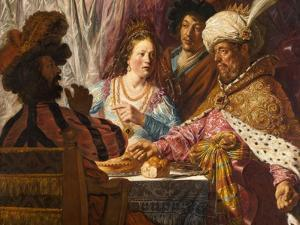 The Feast of Esther, c.1625 by Jan The Elder Lievens