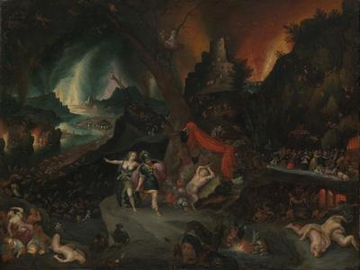 Aeneas and the Sibyl in the Underworld, 1630s