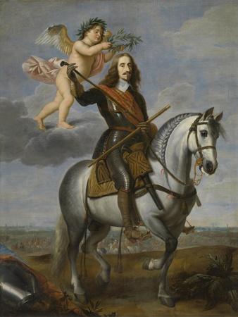Equestrian Portrait of Archduke Leopold Wilhelm of Austria (1614-166), First Half of 17th C
