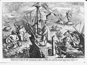 Amerigo Vespucci (1454-1512) by Jan van der Straet