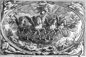 The Four Seasons, Engraved by Philip Galle, C.1580 by Jan van der Straet