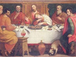 The Last Supper by Jan van der Straet