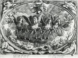 The Sun, 16th Century by Jan van der Straet