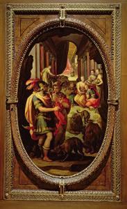 Ulysses, Mercury and Circe, 1570 by Jan van der Straet