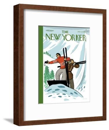 The New Yorker Cover - January 11, 2010