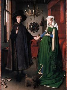 Eyck: Arnolfini Marriage by Jan van Eyck