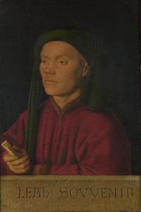 Léal Souvenir (Loyal Remembranc), 1432 by Jan van Eyck