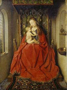 Lucca-Madonna, about 1437/38 by Jan van Eyck