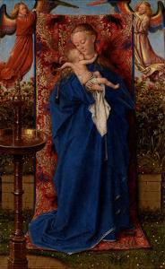 Madonna and Child at the Fountain by Jan van Eyck