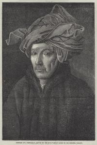 Portrait of a Gentleman by Jan van Eyck