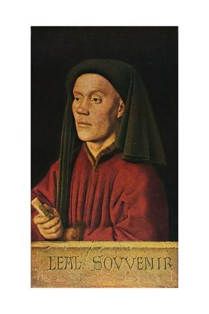 'Portrait of a Man ('Léal Souvenir')', 1432, (1909)