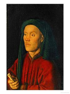 Portrait of a Young Man, 1432, Perhaps Guillaume Dufay by Jan van Eyck