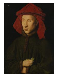 Portrait of Giovanni Arnolfini, about 1439/40 by Jan van Eyck