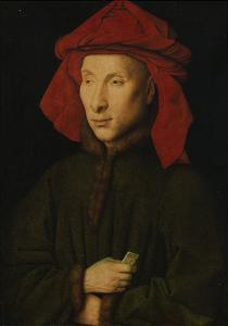 Portrait of Giovanni Arnolfini, about 1439/40 by Jan van Eyck