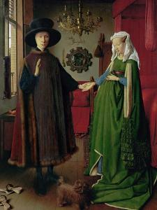 Portrait of Giovanni Arnolfini and his Wife, c.1434 by Jan van Eyck