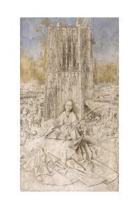 Saint Barbara by Jan van Eyck