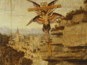 St Francis Receiving Stigmata, 1432 by Jan van Eyck