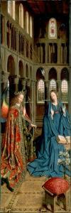 The Annunciation, 1434-1436 by Jan van Eyck