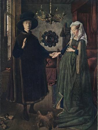 The Arnolfini Portrait, 1434, (1904)
