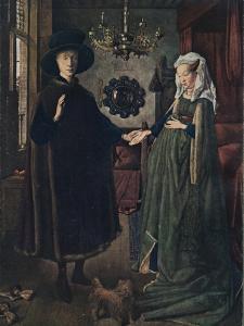 The Arnolfini Portrait, 1434, (1904) by Jan van Eyck