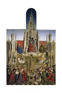 The Fountain of Grace and the Triumph of Ecclesia over the Synagogue, 1430 by Jan van Eyck