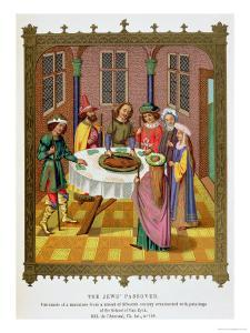 The Jews' Passover, Facsimile of a 15th Century Missal Ornamented with Paintings by Jan van Eyck