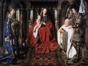 The Madonna of Canon Van Der Paele, 1436 by Jan van Eyck