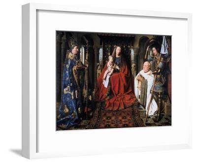 The Madonna of Canon Van Der Paele, 1436