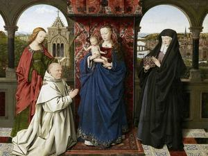 The Virgin and Child with Saints and Donor by Jan van Eyck