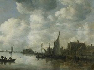 Bateaux de pêche by Jan Van Goyen