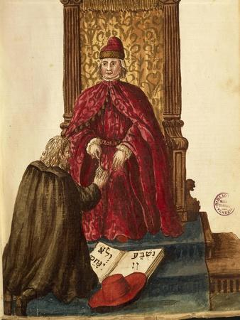 Republic Dignitary Swearing Loyalty to Venetian Doge