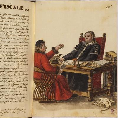 Venetian Clothing - a Lawyer and an Accountant