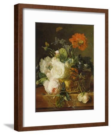 Basket of Flowers. (Undated)