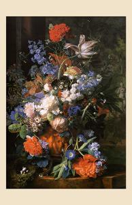 Bouquet de Fleurs, Vers 1730 by Jan van Huysum