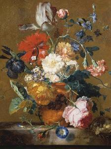 Bouquet of Flowers by Jan van Huysum
