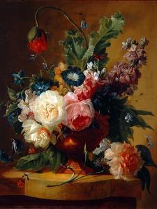 Flower Still-Life, 1740 by Jan van Huysum