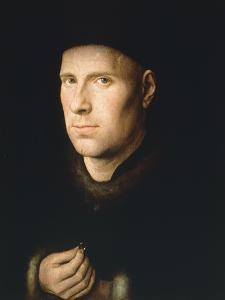 Portrait of Jan De Leeuw, 1390-1441 by Jan van Huysum