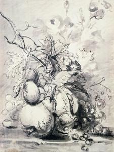 Still Life of Fruit, (1700-1749) by Jan van Huysum